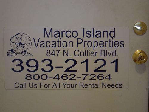 Marco Vacation Property